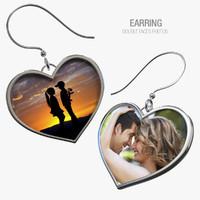 3d earring -