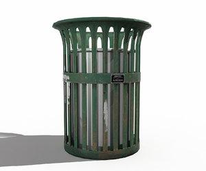 3d model trash
