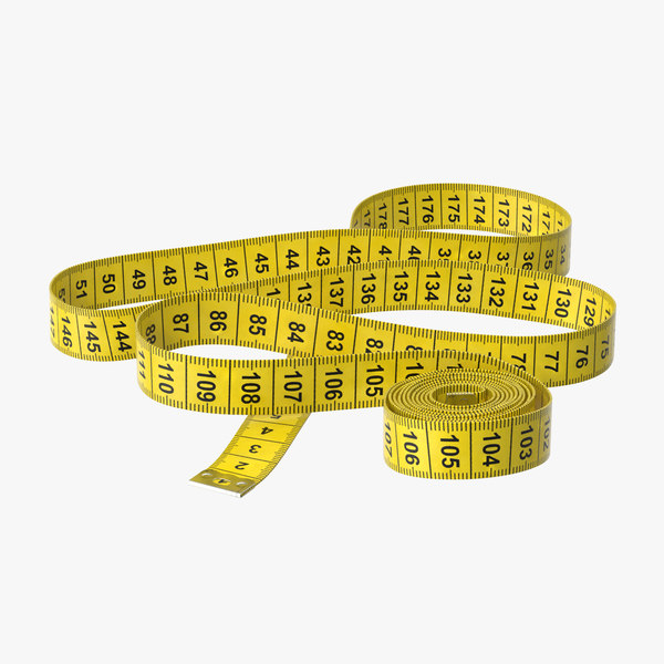 3d model tape measurer 04