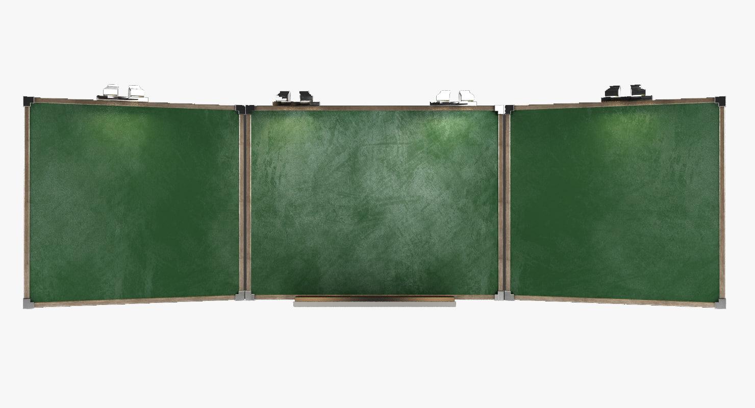 3d model school board