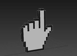 3d mouse hand
