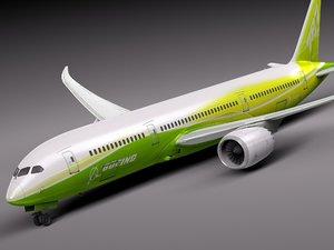 ma green boeing 787