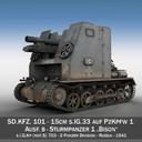 Sturmpanzer1 - Bison - Cambrai - 2.PzDiv