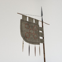 viking flag 3d ma