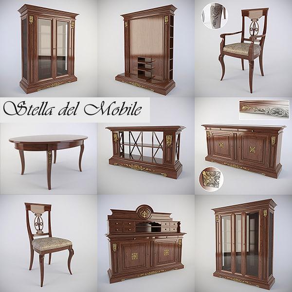 3d obj furniture room