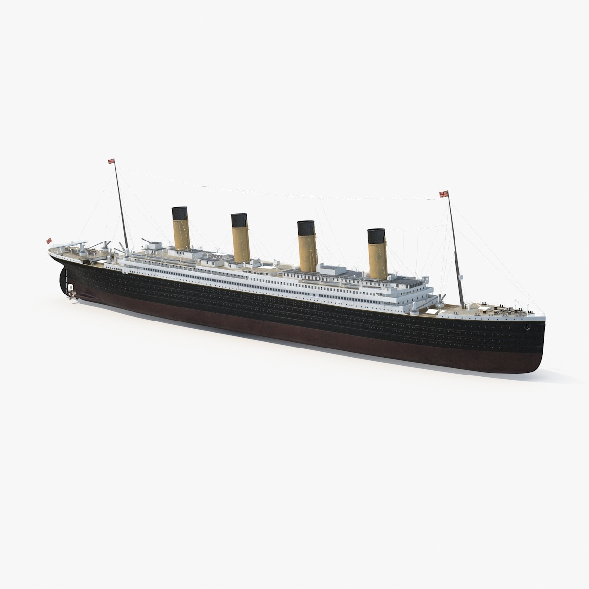 rms titanic 3d c4d