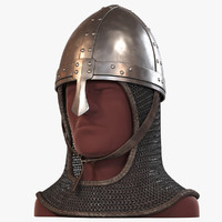 3d model nose helmet