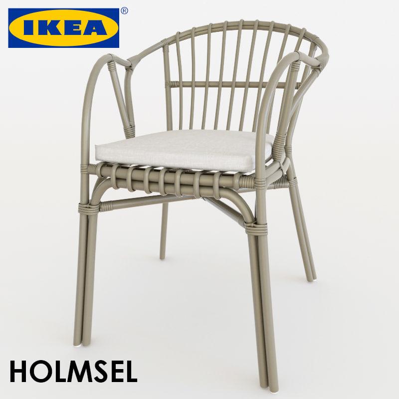 3d chair holmsel model