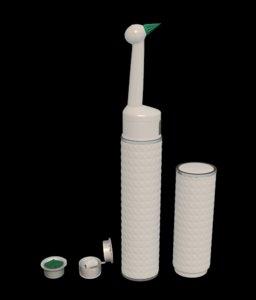 3d model of teeth toothbrush