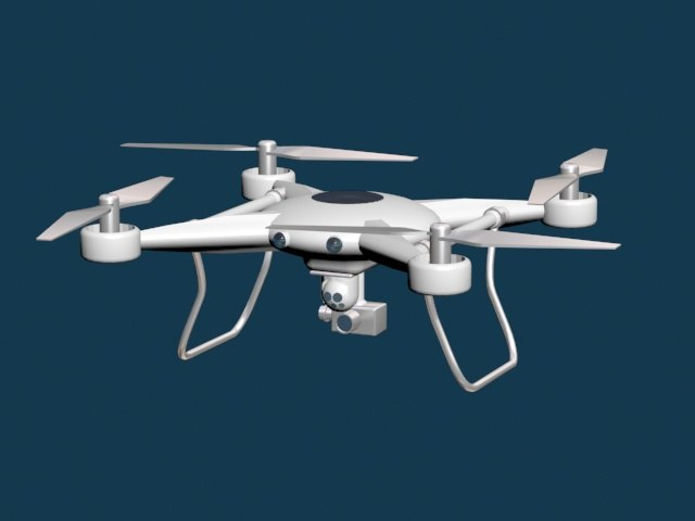 uav 3d model