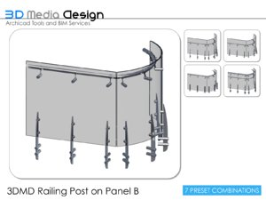 3dmd railings 3d model