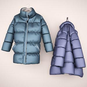 jacket hanger hook 3d max