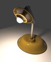 3d model work lamp