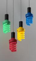 3d bulbs model