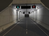 Tunnel Low Poly