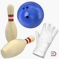 bowling 2 modeled 3d model