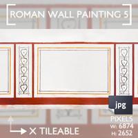 Roman Wall Painting Scheme 5