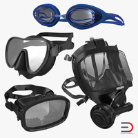 Scuba Masks Collection 3