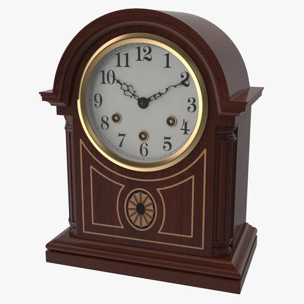 table clock obj