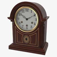table clock obj