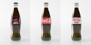 photorealistic coca cola 3d model