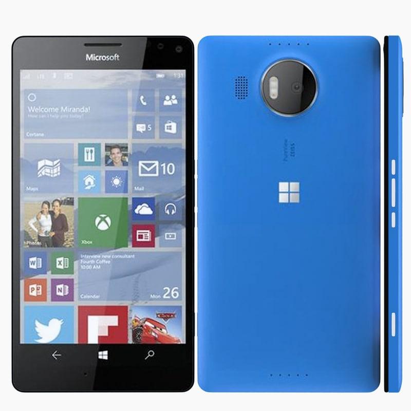 microsoft lumia 950 obj