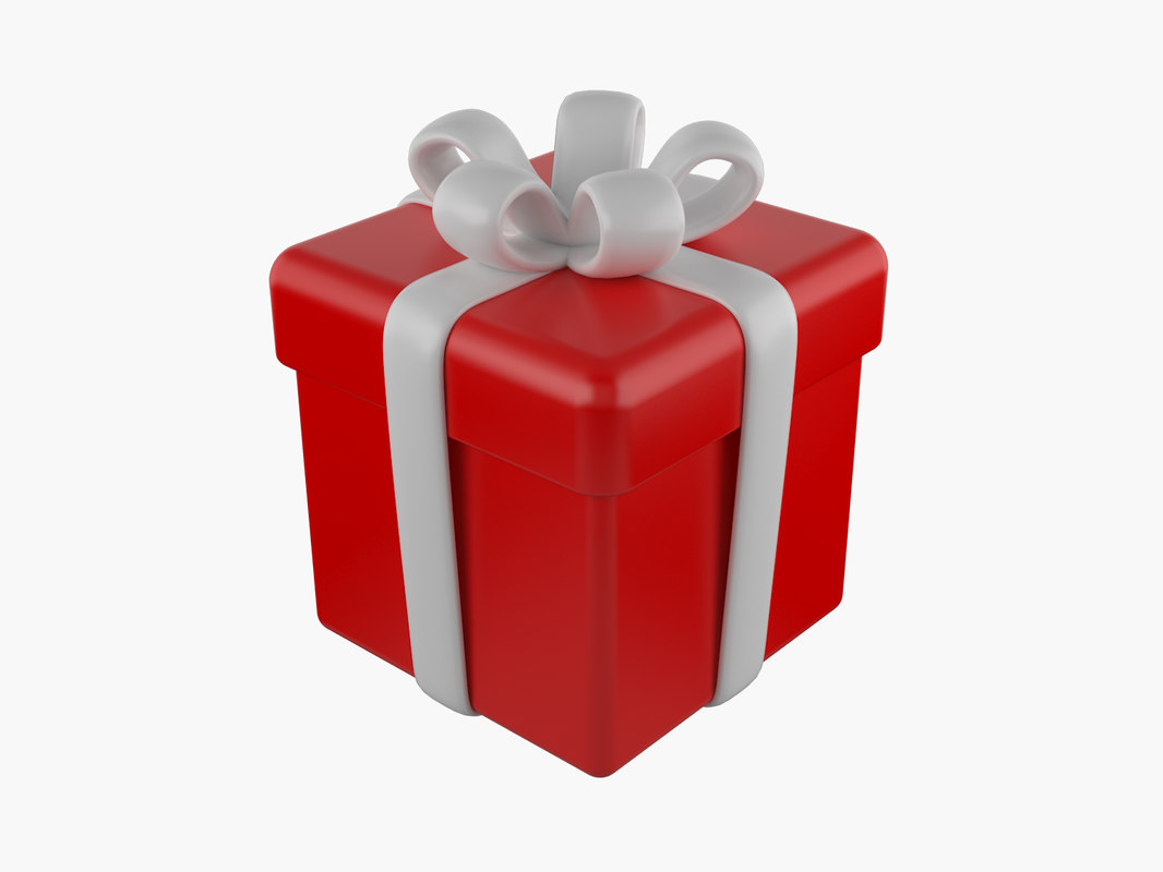 gift package 3d model
