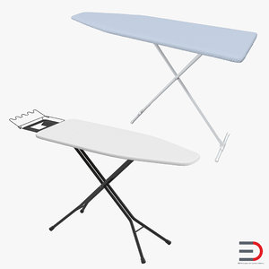 3d ironing boards model