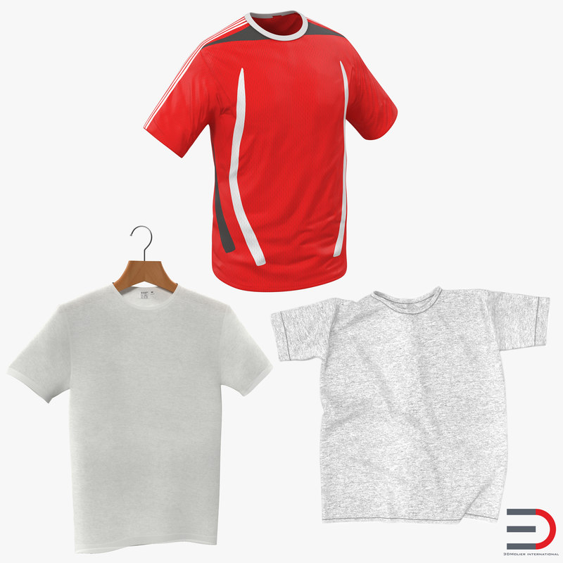 tshirts shirt 3d model