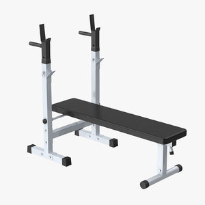 3d model weight bench