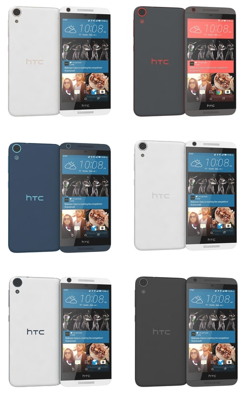 htc desire 626 colors 3d max