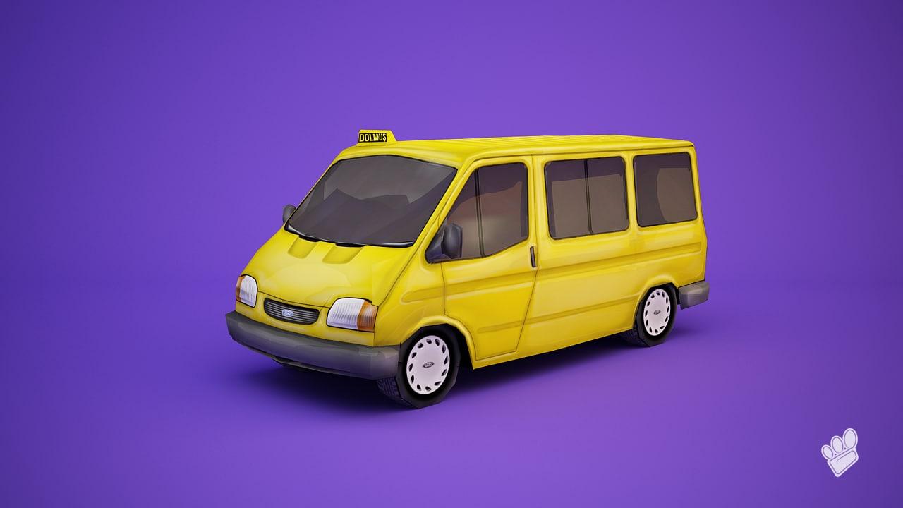 3d cab dolmus mobile