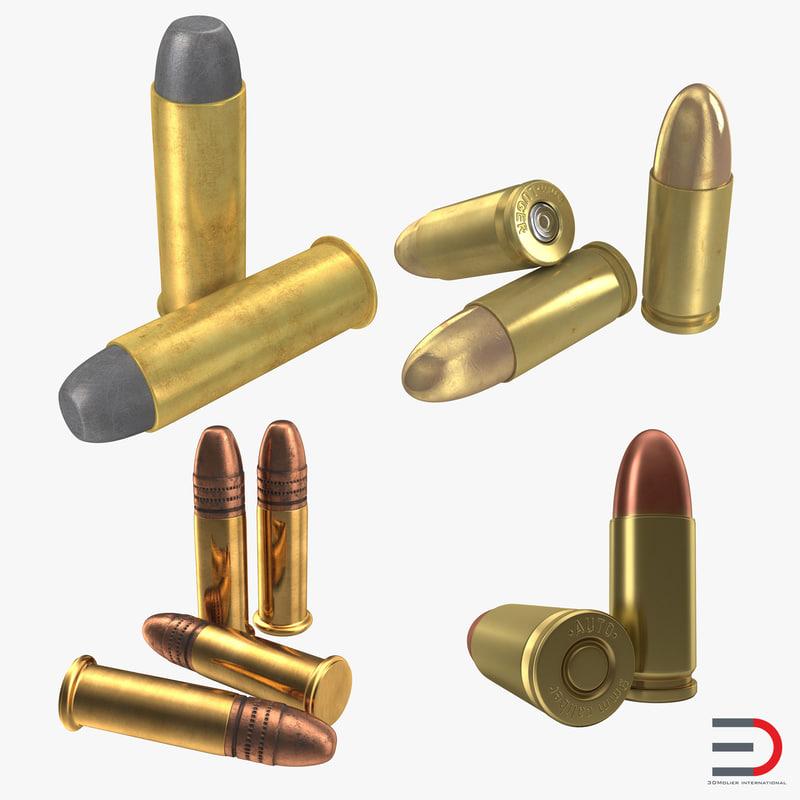 cartridges set 22 3d max