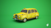 cab dolmus mobile 3d model