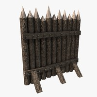 Stockade construction kit