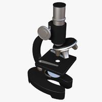 microscope 3d model