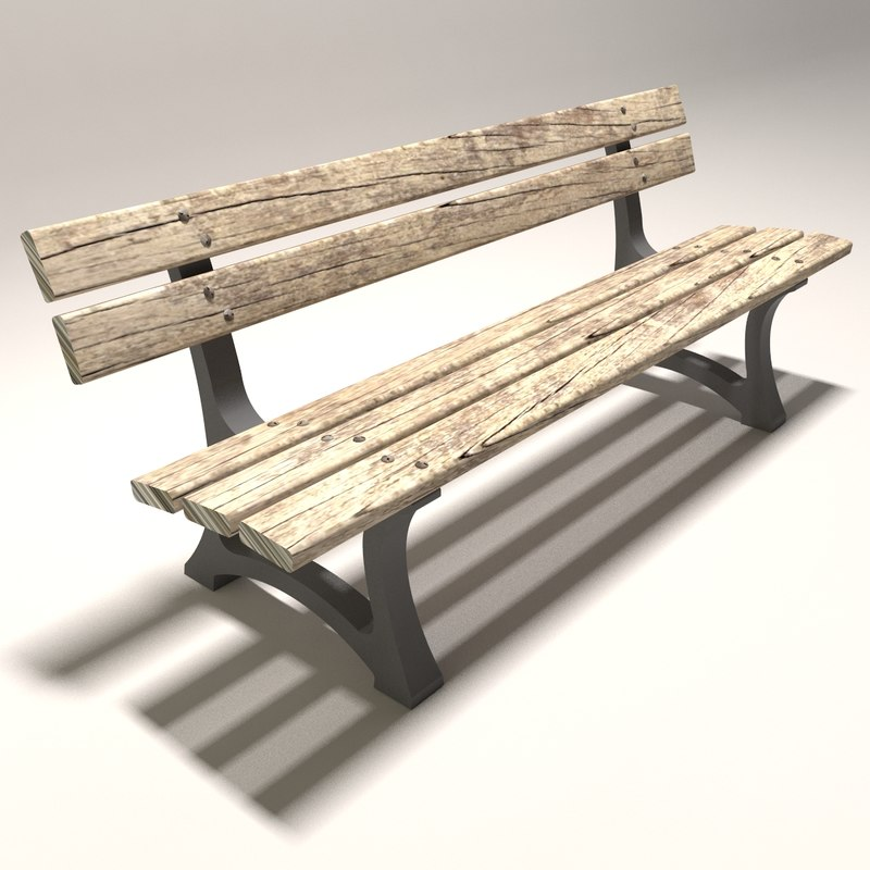 architectural bench 3d 3ds