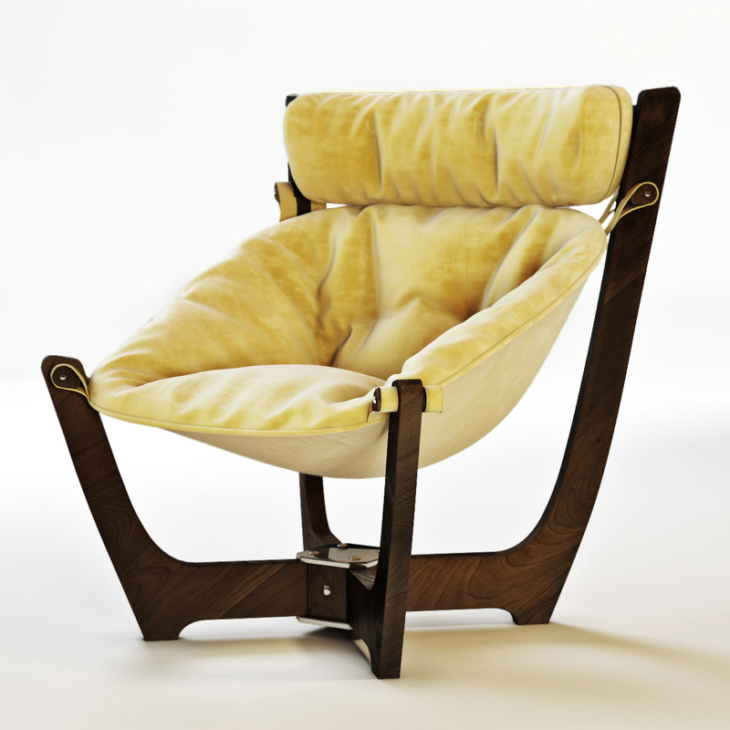 chair luna 3d model
