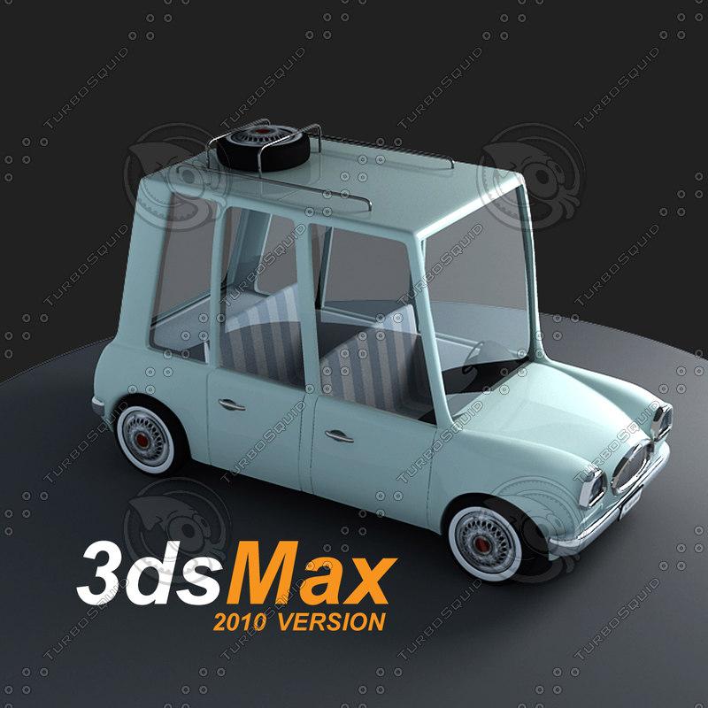 cartoon toon car max