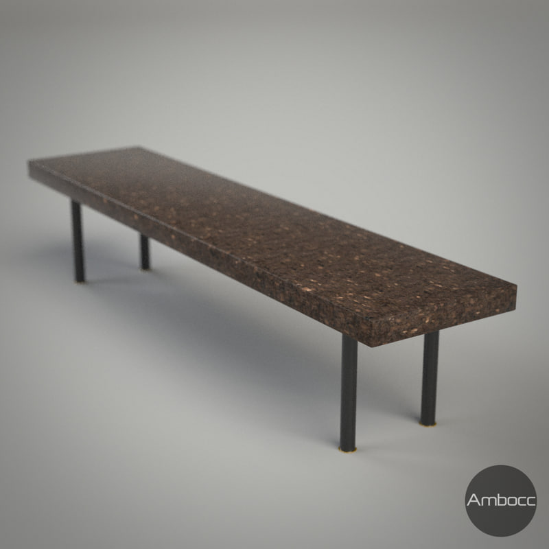 Ikea Inspired Sinnerlig Coffee Table Cork Dark Brown 150x34x32cm