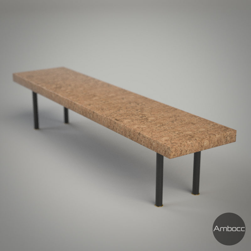 Ikea Inspired Sinnerlig Coffee Table Cork Natural 150x34x32cm 2