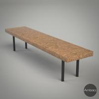 3d ikea sinnerlig coffee table model