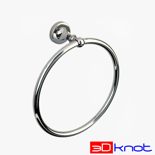 towel ring 3ds