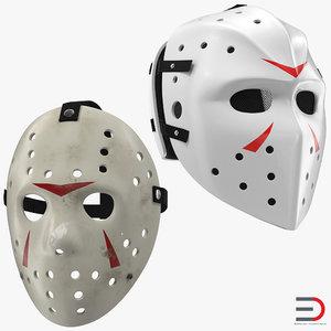 3d hockey masks