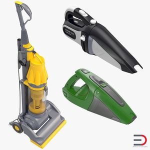 vacuum cleaners 2 cleaning 3d model