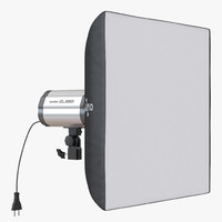 3d model studio lighting softbox 2