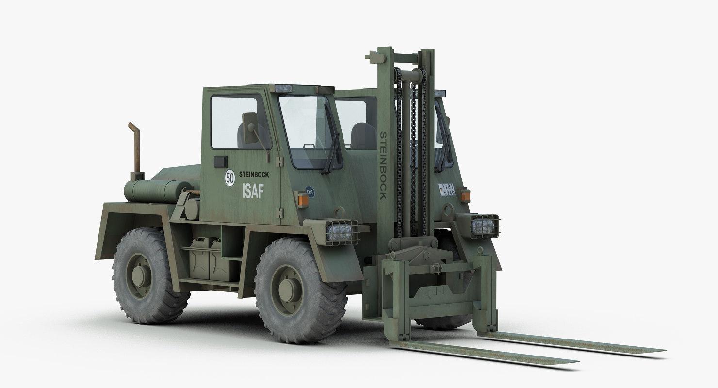 max german military forklift fug
