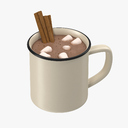 hot chocolate 3D models