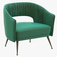 brabbu stola armchair 3d 3ds