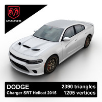 3ds 2015 dodge charger srt